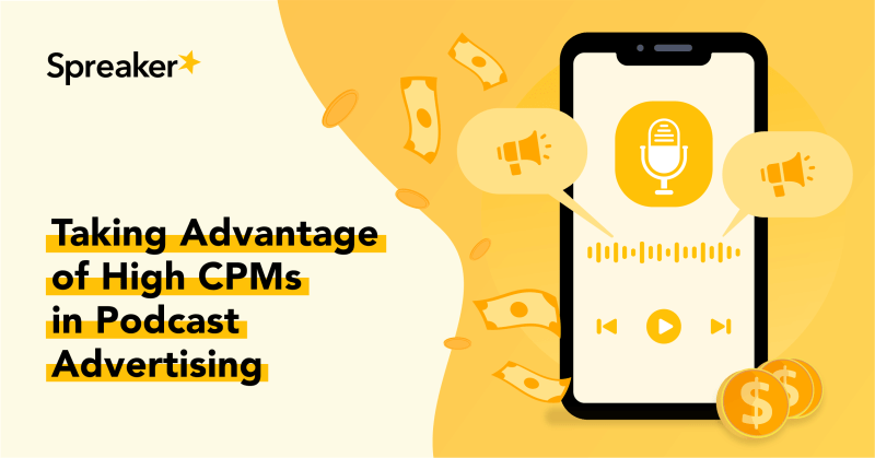 Taking Advantage of High CPMs in Podcast Advertising-1200x628