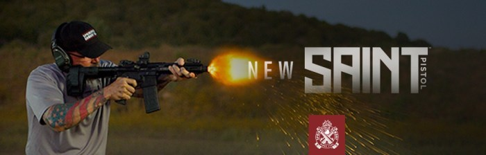 The New SAINT™ AR-15 Pistol