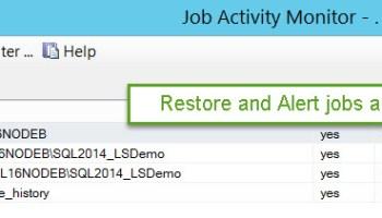 SQL SERVER - Get Database Backup History for a Single Database LS-Restore-01