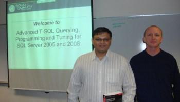 SQL SERVER - Advanced T-SQL with Itzik Ben-Gan - A Dream Coming True Itzik1