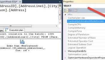 SQL SERVER - 2005 - SSMS - Enable Autogrowth Database Property cardinalityesti