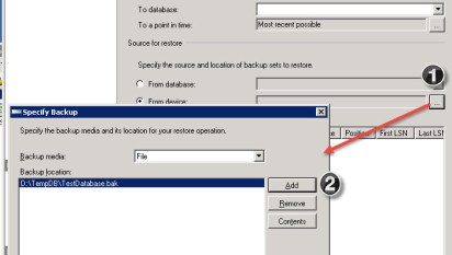 SQL SERVER - Could Not Use View or Function 'msdb dbo
