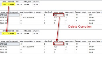 SQL SERVER - Index Levels, Page Count, Record Count and DMV -sys.dm_db_index_physical_stats indexlevel