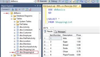 SQL SERVER - Basics Video: Running SQL Code - SQL in Sixty Seconds #057 j2pbasics-2-1