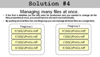SQL SERVER - SQL Basics Video: What Are Filegroups - SQL in Sixty Seconds #064 j2pbasics-9-1