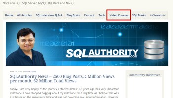 SQL Authority News - Behind the Scene Story of New Look newblog