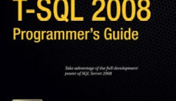 SQLAuthority News - Book Review - Pro T-SQL 2005 Programmer's Guide (Paperback) protsql2008