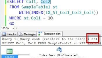 SQL SERVER - Maximum Column Per Index - 32 redundant11