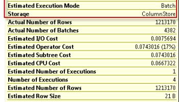 SQL SERVER - Columnstore Index and Fragementation regularcolumn2