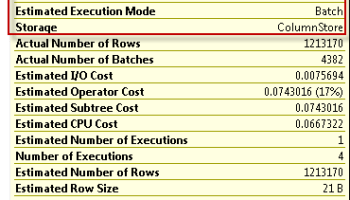 SQL SERVER - ColumnStore Index Displaying Actual Number of Rows To Zero regularcolumn2