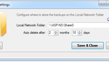 SQL SERVER - Simple Trick to Backup Azure Database with SkyDrive sqbf-image05