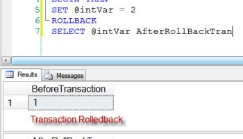 SQL SERVER - Insert Values of Stored Procedure in Table - Use Table Valued Function tran