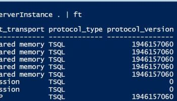 PowerShell - Querying SQL Server From Command Line - SQL