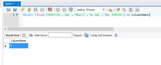 MySQL - ELT() and FILED() Functions to Extract Index Position From List mysql-index-position4