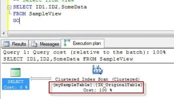 SQL SERVER – SELECT * and Adding Column Issue in View – Limitation of theView4 viewlimit_3_2