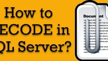 SQL SERVER - Alternate to AGENT_DATETIME Function decode