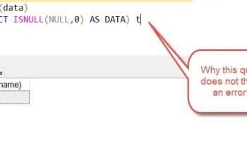 SQL SERVER - Find Monday of the Current Week isnullerror