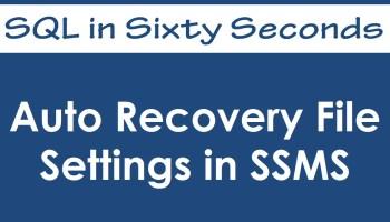 SQL SERVER - Color Coding SQL Server Management Studio Status Bar - SQL in Sixty Seconds #023 - Video 34