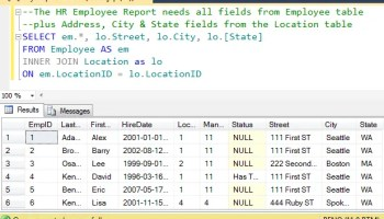 SQL SERVER - Two Different Ways to Comment Code - Explanation and Example j2p2012-2