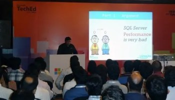 SQL SERVER - Speed Up! - Parallel Processes and Unparalleled Performance - TechEd 2012 India 3