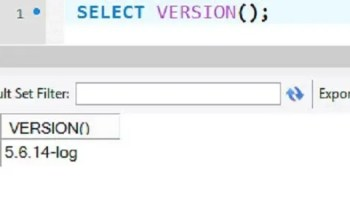 MySQL - Different Methods to Know MySQL Version mysqlversion2