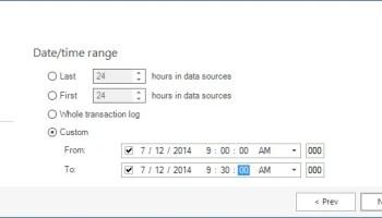 SQL SERVER - Repair a SQL Server Database Using a Transaction Log Explorer apexsql-dbchange3
