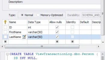 SQL SERVER - Reading Transaction Log to Identified Who Dropped a Table tlog2