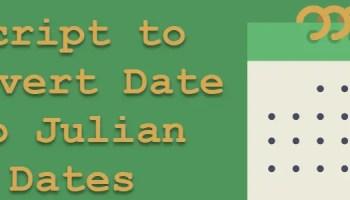 MySQL - When to Use TIMESTAMP or DATETIME - Difference Between TIMESTAMP or DATETIME juliandate
