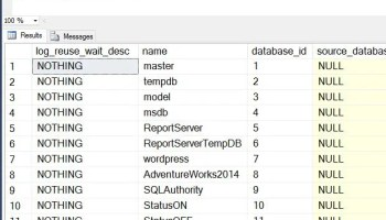 SQL SERVER - Rebuild Index Job Failed - Error: 9002 - The Transaction Log for Database 'PinalDB' is Full Due to 'LOG_BACKUP' huge-tx-log