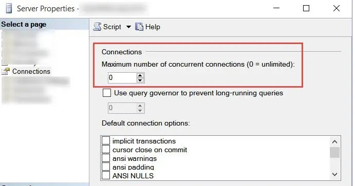 SQL SERVER - FIX: Could not connect because the maximum number of 1 user connections has already been reached