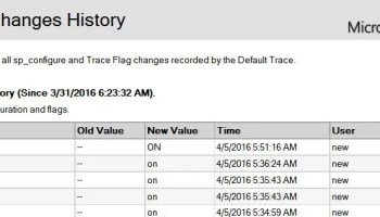SQL SERVER - What is Trace Flag - An Introduction traceon-01