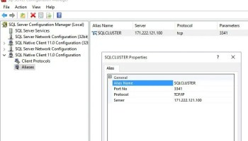SQL Server Agent - Unable to start the service - The request failed or the service did not respond in a timely fashion alias-01