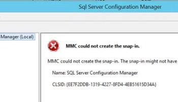 SQL SERVER - SQL Server Configuration Manager Missing from Start Menu mmc-snap-01