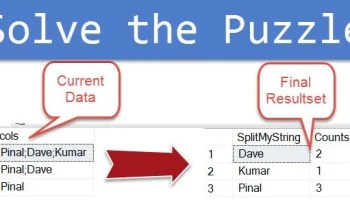 SQL SERVER - Split Comma Separated List Without Using a Function split-string-03