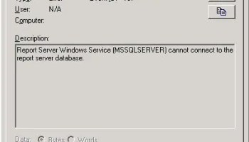 SQL SERVER - Reporting Services Not Starting After Maintenance Window ssrs-01