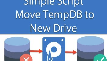 Interview Question of the Week #027 - Move TempDB from One Drive to Another Drive When Low Disk Space tempdbmove