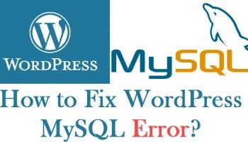 WordPress - How to Rollback Plugin or Theme Changes? - WP Rollback mysqlerror