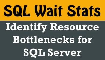 SQL SERVER - List All Server Wide Configurations Values waitstats