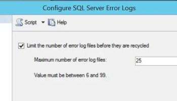 SQL SERVER - Recycle Error Log - Create New Log file without Server Restart error-log-01
