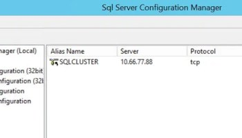 SQL SERVER - Unable to bring resource online. Error - Data source name not found and no default driver specified sql-clus-01