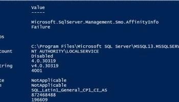 PowerShell - Reading Tables Data Using Script server-details-ps-01