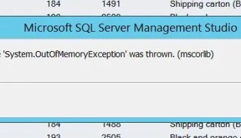 SQL SERVER - Copy Data From SSMS Query Result to Excel SSMS-OOM