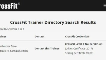 My Journey to CrossFit Level 1 Trainer (CF-L1) Credential CF-L2