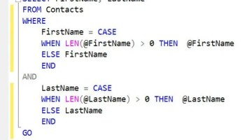 SQL SERVER - CASE Statement/Expression Examples and