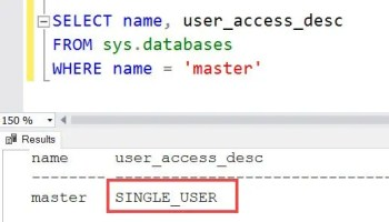 SQL SERVER - Database Giving Error While Setting Single_User Mode master-single-01