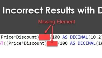 SQL Puzzle - Correct the Incorrect Query - Win Price Worth USD 1000
