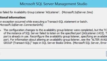 SQL SERVER - Find Instance Name for Availability Group Listener list-port-01