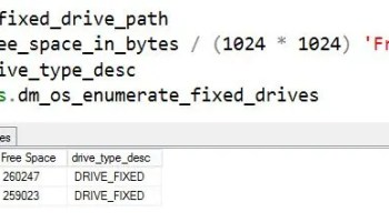 SQL SERVER- New DMF in SQL Server 2017 - sys.dm_os_file_exists. A Replacement of xp_fileexist sql2017-new-dmv