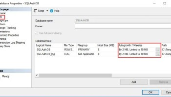 SQL SERVER - Msg 1842 - The File Size, Max Size Cannot be Greater Than 2147483647 in Units of a Page Size space-err-02