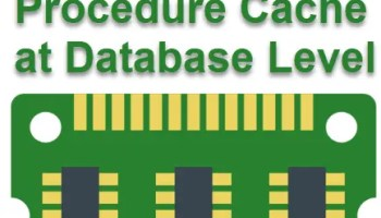 SQL SERVER - How to Clear Plan Cache with Database Scoped